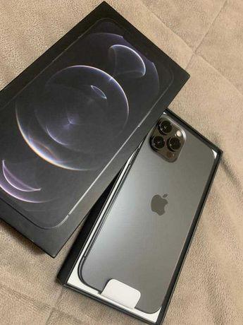 iPhone 12 Pro Max 256GB Graphite + Apple Watch 6 44mm