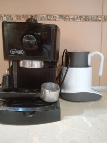 Express do kawy wraz z podgrzewaczem