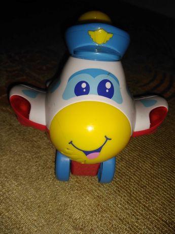 Samolot zabawka grająca