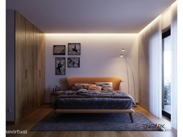 Apartamento T1 c/ varanda 1º andar