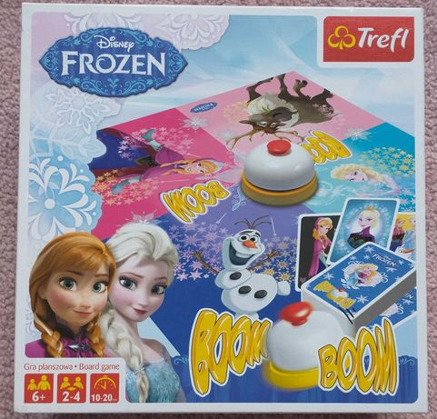 Gra planszowa boom boom Disney Frozen