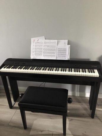 Pianino cyfrowe Roland FP-90 + statyw + ława