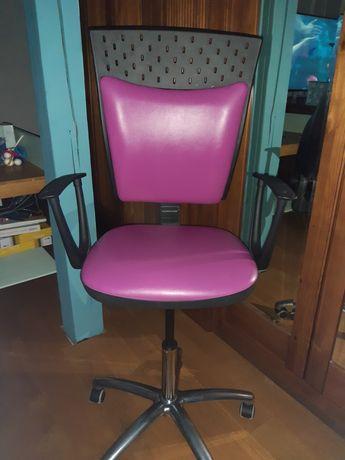 Fotel skórzany obrotowy do biurka