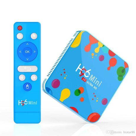 Android TV Box - H96 Mini - 128Gb - 6K UHD - Nova