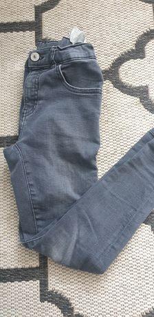 Dzinsy zara jeansy r. 134