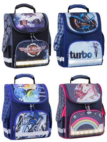 Школьный рюкзак светящийся, ранец, портфель, детский для школы!