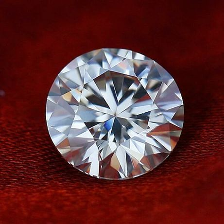 Муассанит. Лабораторный бриллиант. Алмаз. Муасаніт
