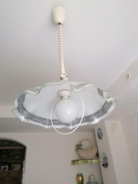Люстра кухонная для комнаты стекло Сумы - изображение 1