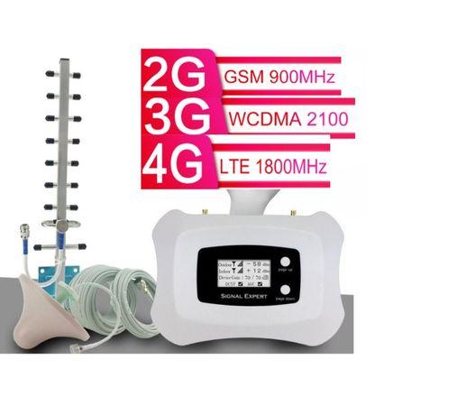 усилитель мобильной сотовой связи GSM, 3G, 4G підсилювач, репитер