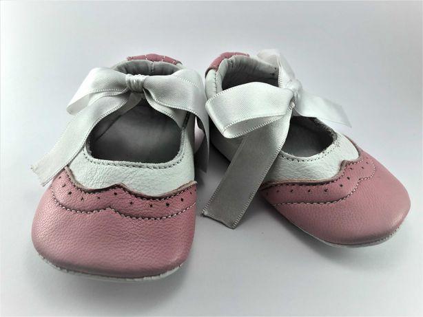 Sapatos Balancê Oxford Rosa