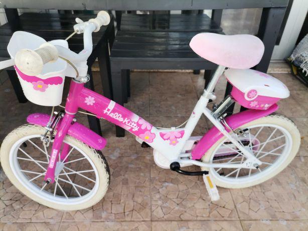 Bicicleta menina Hello kitty