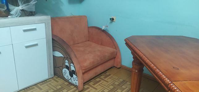 PILNE łóżko fotel jedynka sofa dziecięca młodzieżowa królik 97x197cm