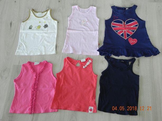 zestaw letnich koszulek 3-4 lata roz.104 do 110 h&m,next,george,cherok
