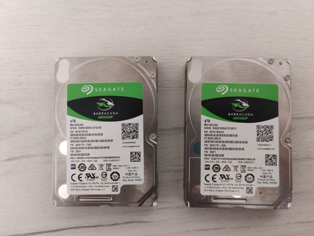"Seagate BarraCuda 4TB 2,5"" HDD"