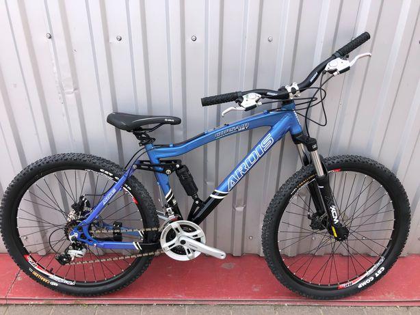 """Алюмінієвий гірський двухпідвісний велосипед """"Ardis Corsair """" Shimano"""