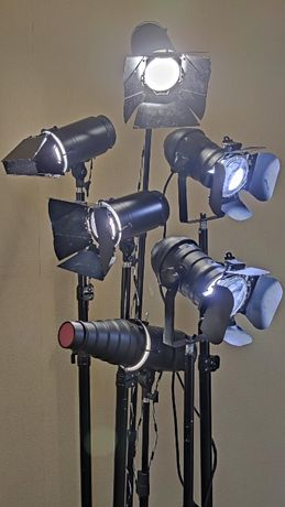 Аренда студийного света, постоянный студийный видео свет