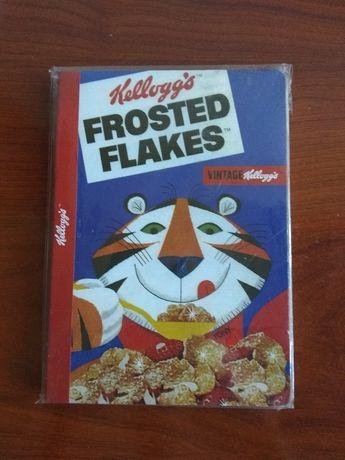 Caderno vintage Kellogs Frosted Flakes NOVO