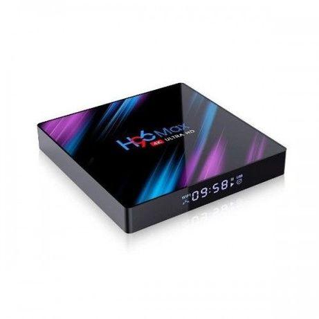 СМАРТ Приставка H96 MAX 4/32 TV тв Box Android 9 RK3318 X96 TX3 vontar