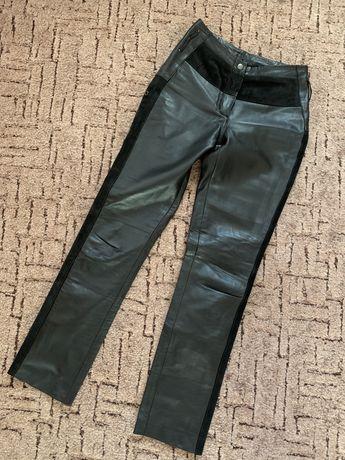 Кожаные брюки XS-S