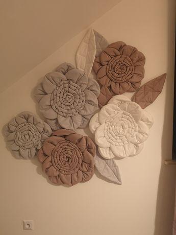 Kwiaty dekoracyjne 3D