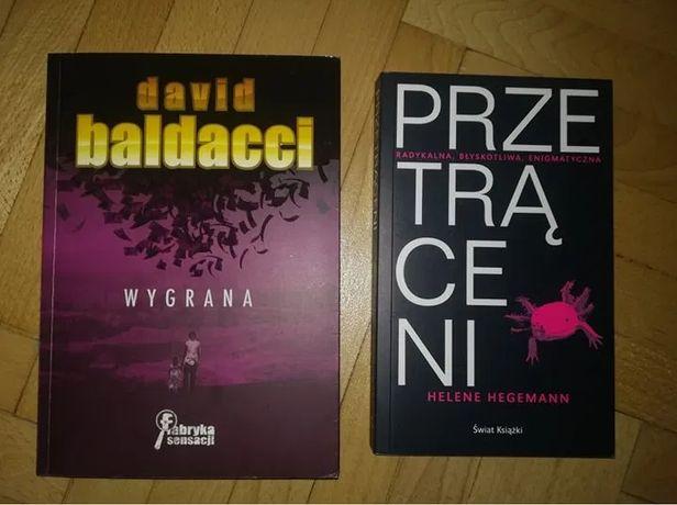Wygrana- David Baldacci/ Przetrąceni- Helene Hegemann