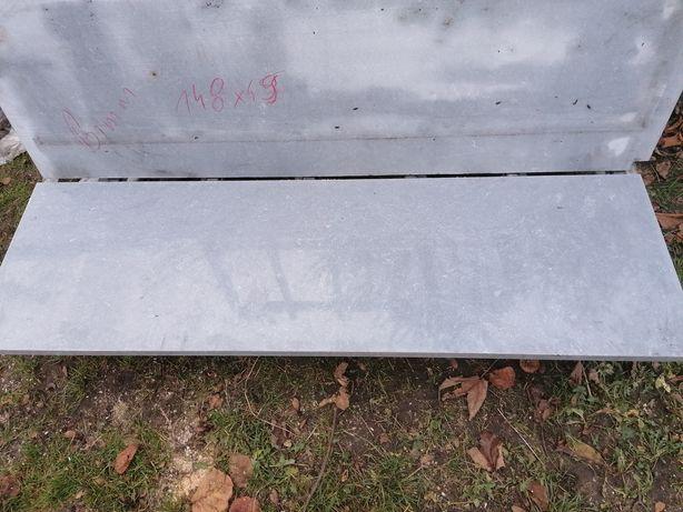 Parapet zewnętrzny szary konglomerat 150 x 45 120 x 50