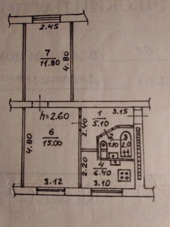 Продам 2-х комнатную квартиру в Ленинском районе