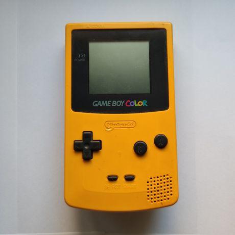 Gameboy / game boy color amarelo da nintendo