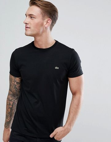 Lacoste S M L XL XXL Koszulka Bluzka T-Shirt Nowość Nowa Wysyłka Men