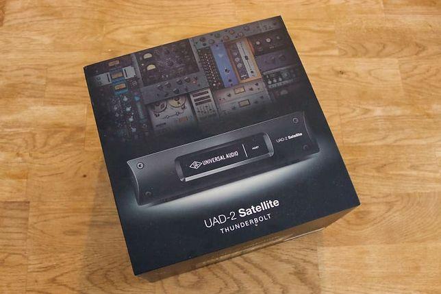 UAD Universal Audio Satellite QUAD Thunderbolt 2 + 40plugins