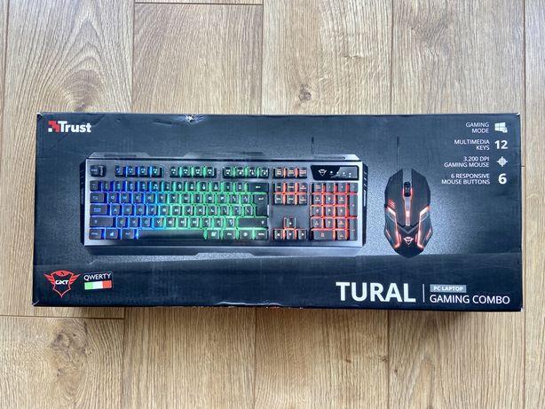 Klawiatura i Mysz Gamingowa Trust TURAL Combo GXT 845 DPI 3200 QWERTY