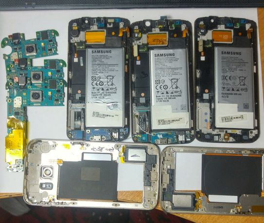 Samsung Galaxy S6 Edge- запчасти.