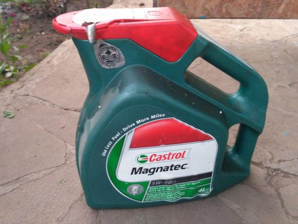 Castrol Magnatec 5W-40 остатки 1,5 литра