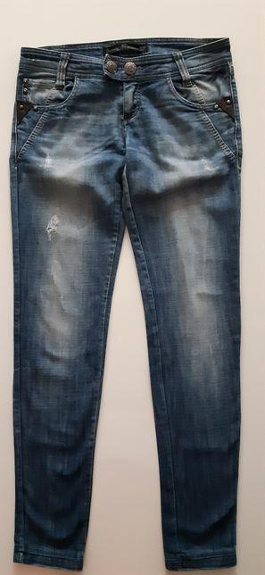 Świetne jeansy z przetarciami Stradivarius rozm 36/08