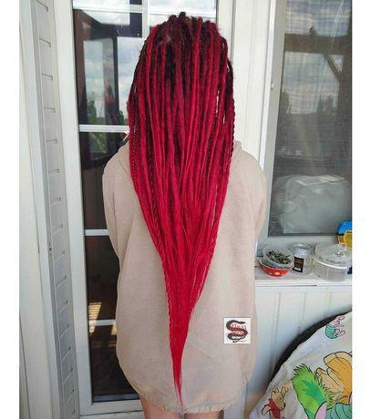 Де дреды, де косы. Плетение, коррекция, готовые наборы
