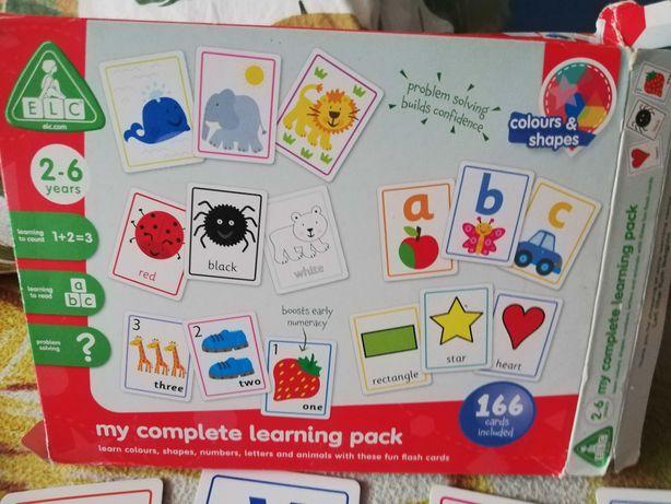 Gra planszowa My complet learning pack do nauki ang. dla dzieci