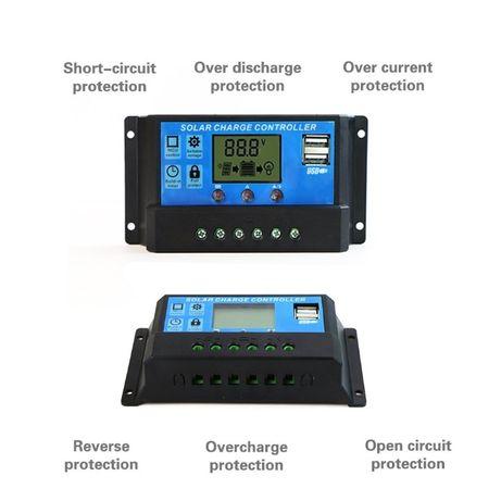 Controlador de carga solar