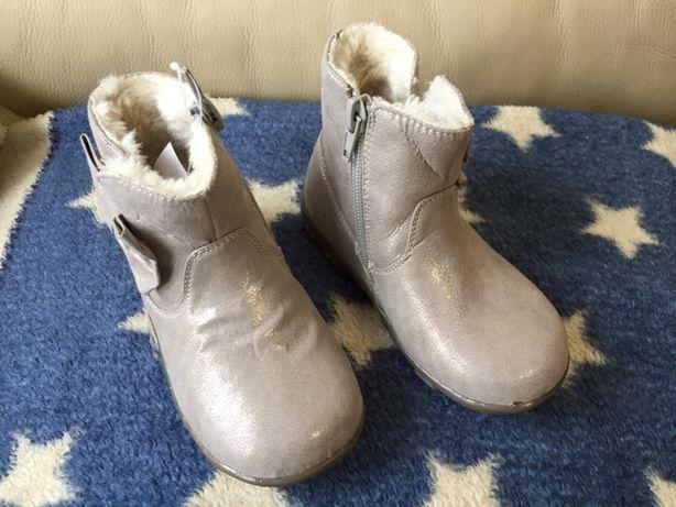 Ocieplane buty dziewczęce SPROX