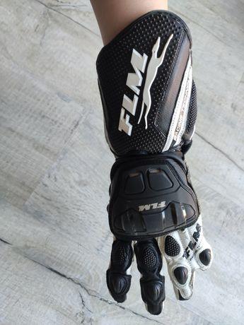 Damskie rękawice motocyklowe, rozmiar 7 (XXS), FLM sportowe