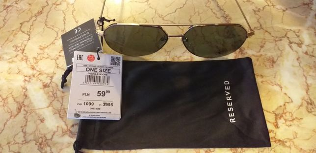 Nowe nieużywane okulary Reserved