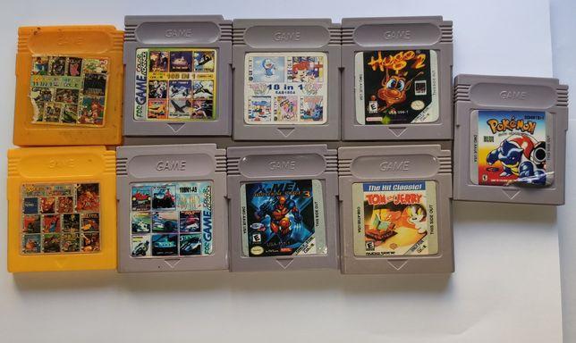 Jogos (falsos) para game boy e gameboy color (nintendo)