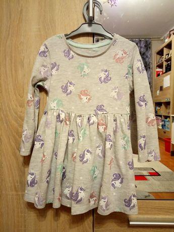 Sukienka r.86/92 dla dziewczynki f. F&F