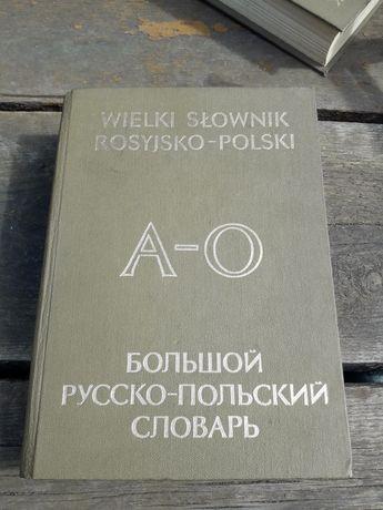 Wielki słownik rosyjsko-polski tom 1