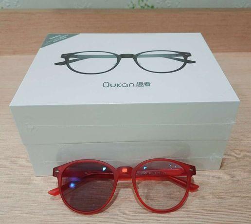 Окуляри очки Xiaomi Qukan W1 Matte Red (Claret) для компьютера