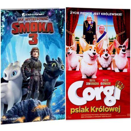 2 Bajki DVD Smoki i Corgi