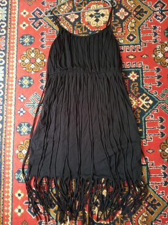 Плаття платье сарафан вечернее вечірнє М вечеринка чорний