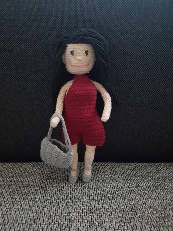 amigurumi lalka na szydełku 22 cm