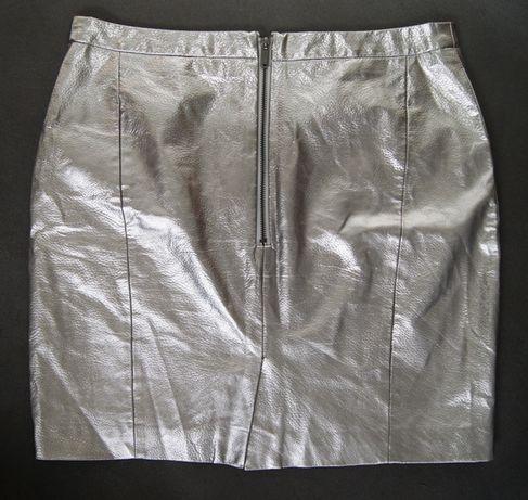 Mohito srebrna spódnica 40