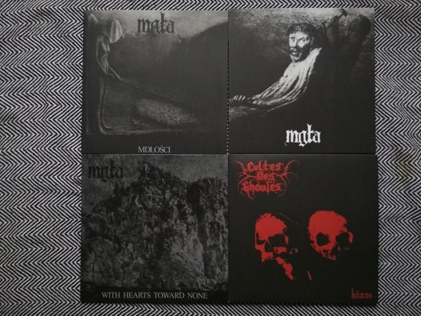 Mgła Cultes des Ghoules LP płyty winylowe polski black metal