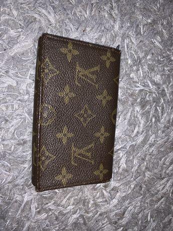 Uzywany portfel Louis Vuitton z lat 80' monogram